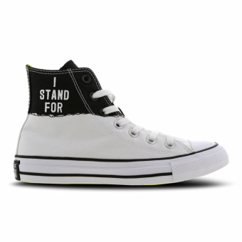 Converse Chuck Taylor All Star High I Stand For (665711C) schwarz