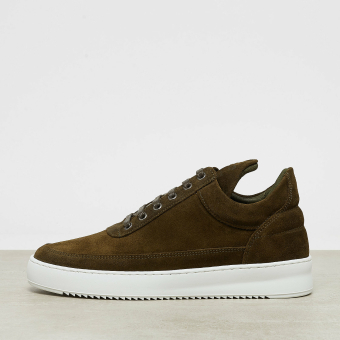 Filling Pieces Low Top Waxed Suede (25122591858) braun