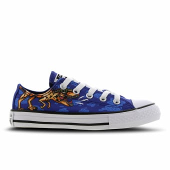 Converse Chuck Taylor All Star Dinoverse Low (66424CC) blau