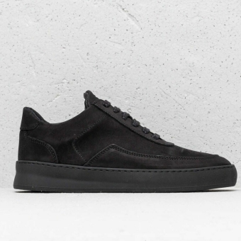 Filling Pieces Low Mondo Plain Nardo Nubuck (330219118470) schwarz