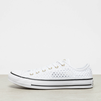 Converse Chuck Taylor All Star OX white/black/white (847126-002) weiss
