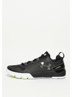 Under Armour Laufschuh Charged Ultimate TR Low black/white/graphite (1275331-001) schwarz