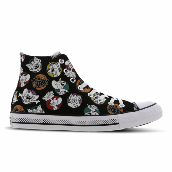 Converse Chuck Taylor All Star Tom & Jerry High (165733C) schwarz