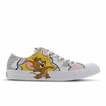 Converse Chuck Taylor All Star Tom & Jerry Low (165732C) weiss