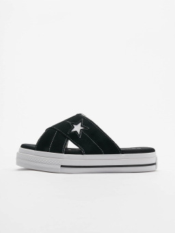 Converse One Star (564143C 001) schwarz