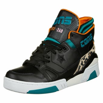 Converse ERX 260 Mid Teal Orange (163784C 001) schwarz