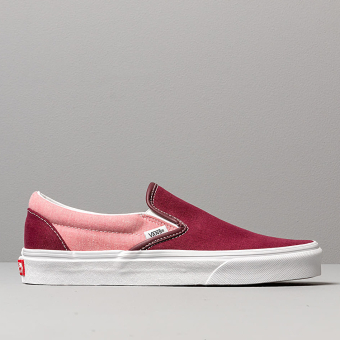 Vans Classic Slip-On (Chambray) (VN0A38F7VLR1) rot