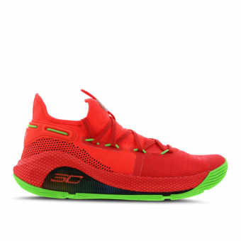 Under Armour curry 6 (3020612-607) rot