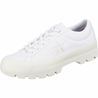 Converse One Star Lugged OX (563426C) weiss