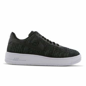 Nike Air Force 1 Flyknit 2 0 black anthracite white (CI0051-001) schwarz