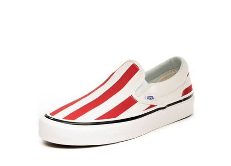 Vans Classic Slip On 98 DX *Anaheim Factory* in rot