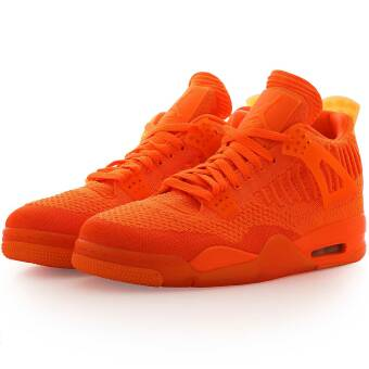 NIKE JORDAN Air 4 Retro Flyknit (AQ3559-800) orange