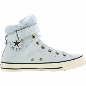 Converse CHUCK TAYLOR ALL STAR BREA LEATHER FUR (553395C) blau