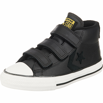 Converse Star Player 3V Mid (665270C) schwarz