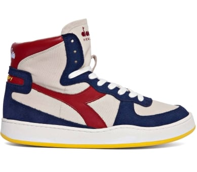 Diadora X Mark McNairy Mi Basket Canvas (201.174798-25020) weiss