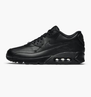 Nike Air Max 90 Leather (302519-001) schwarz