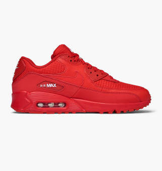 Nike Air Max 90 Essential in rot AJ1285 602 | everysize