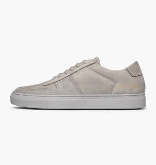 Common Projects Bball Low in Nubuck (2194-7543) grau