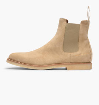 Common Projects Chelsea Boot in Suede (1897-1302) braun