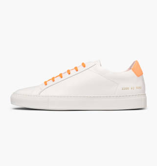 Common Projects Retro Low Fluo (2200-3080) weiss