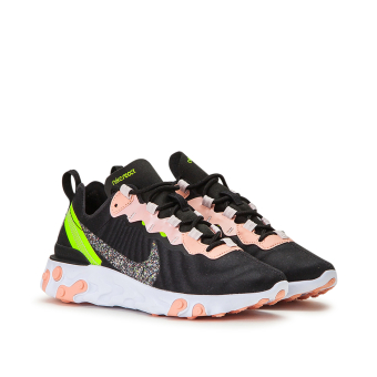 Nike Wmns React Element 55 Premium (CD6964 002) schwarz