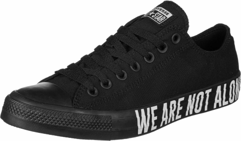 Converse Chuck Taylor All Star We are Ox not (165382C 001) schwarz