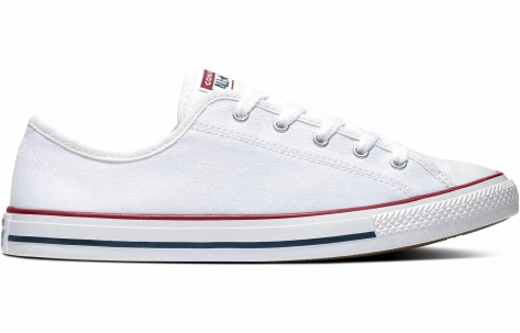 Converse Chuck Taylor All Dainty Star Ox in weiss 564981C