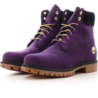 Timberland x nba la lakers 6 premium boot boot md boot boot (TB0A285H5271) lila