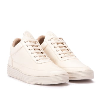 Filling Pieces Low Top Monotone Stripe (10112211053042) weiss
