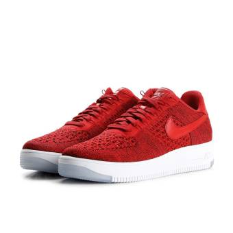 Nike Air Force 1 Ultra Flyknit Low (817419-600) rot
