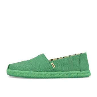 TOMS Womens Classics Winter Green Heritage Canvas On Rope (10013516) grün