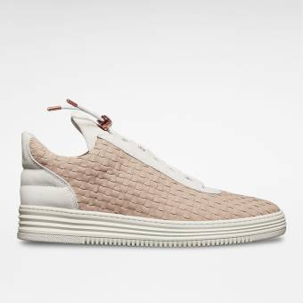 Filling Pieces Low Top All Woven (10112531002-GRY) braun