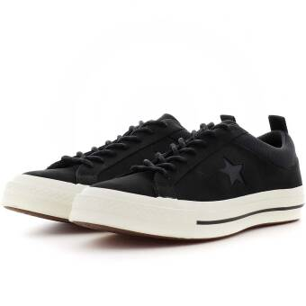 Converse One Star Ox (162545C) schwarz