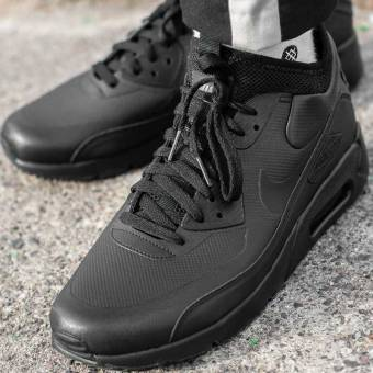 Nike Air Max 90 Ultra Mid Winter (924458-004) schwarz