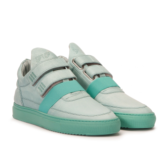 Filling Pieces Low Top Double Strap (10101961022042) blau