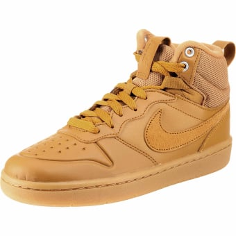 Nike Court Borough Mid 2 Sneaker Boot (BQ5440-700) braun