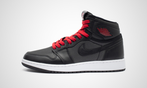 Nike Air Jordan 1 Retro High OG GS Black Satin (575441-060) schwarz