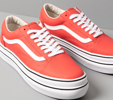 Vans Super ComfyCush Old Skool LX (VN0A4U1EXT11) rot
