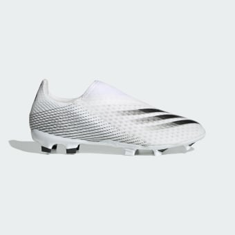 adidas Originals X Ghosted 3 Laceless FG Fussballschuh (EG8165) grau