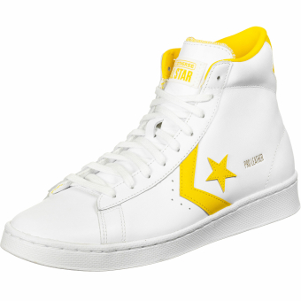 Converse Pro Leather Mid (166812C 996) weiss