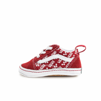 Vans Infant Old Skool Crib Baby (VN0A4P3TW351M) rot
