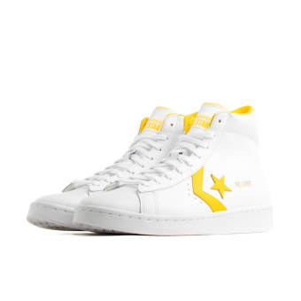 Converse PRO LEATHER MID (166812C) weiss