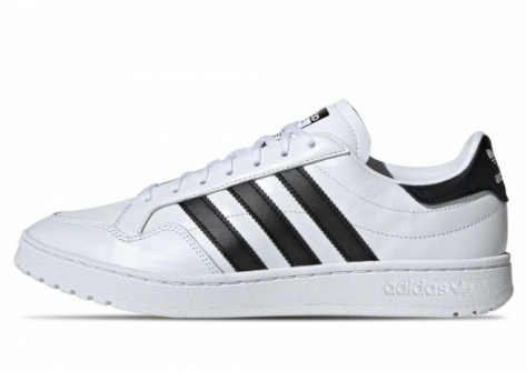 adidas Originals Team Court (Cloud White / Core Black) weiss