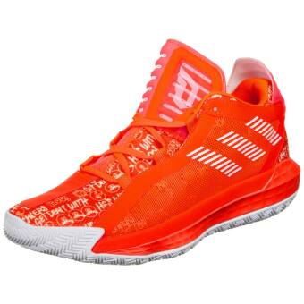 adidas Originals Dame 6 Basketballschuh Herren (FU6808) orange