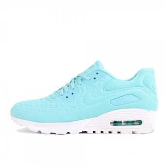 Nike Wmns Air Max 90 Ultra Plush (844886-400) blau