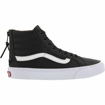 Vans Sk8 Hi Slim Zip Leather (VXH8DU1) schwarz