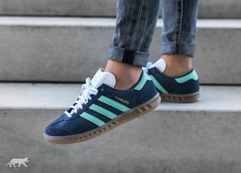 adidas Originals Hamburg W (BB5112) blau