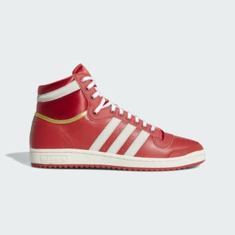 adidas Originals Top Ten Hi Schuh (EF6368) rot