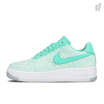 Nike Wmns Air Force 1 Flyknit Low (820256-300) grün