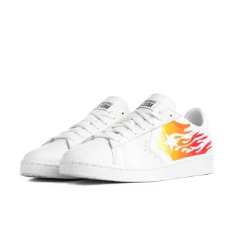 Converse PRO LEATHER OX (167935c) weiss